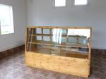 パン屋さんで使うガラスケース/家具工房okamoku
