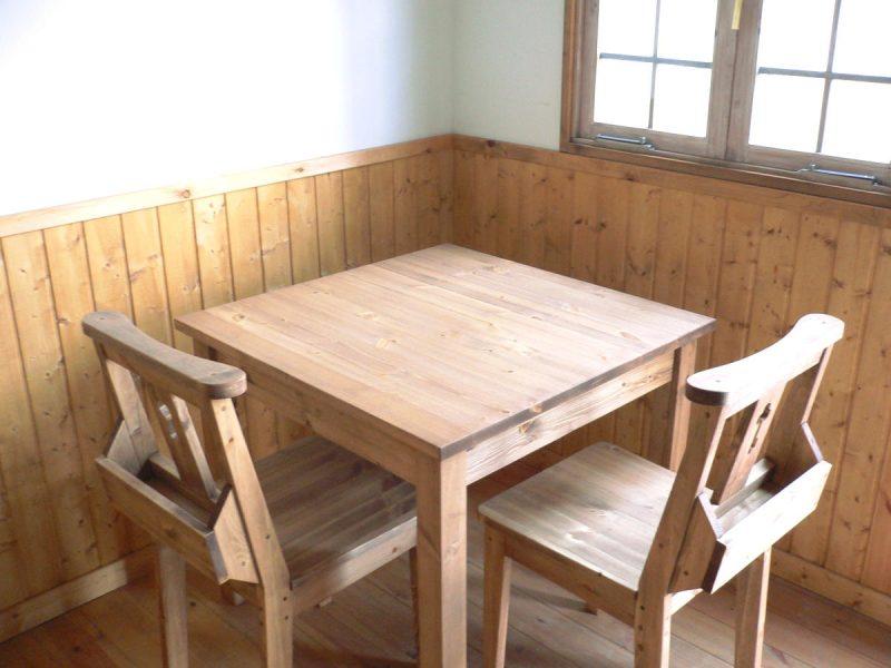 2人掛けダイニングテーブル/okamoku