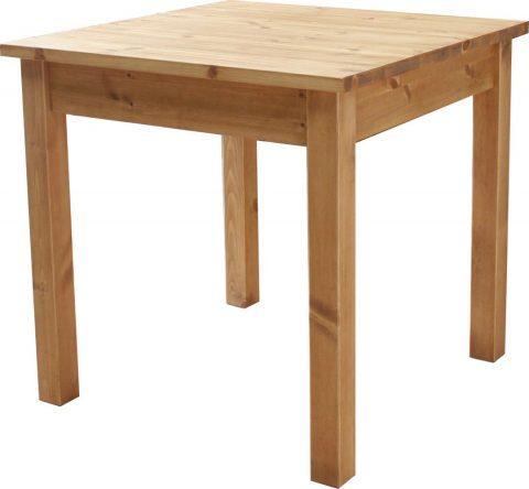 2人掛けダイニングテーブル(パイン材)