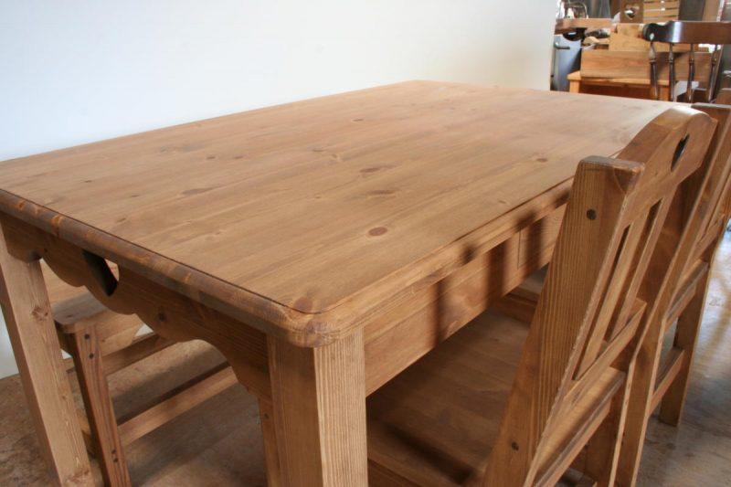 ハートのダイニングテーブル・天板