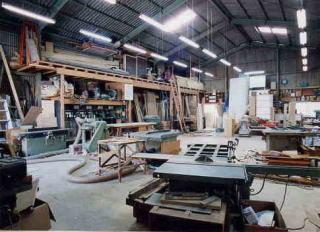 okamoku(オカモト建装)の工場内設備