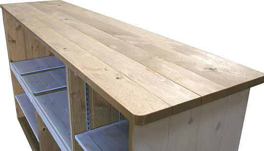 可動式キッチンカウンター天板