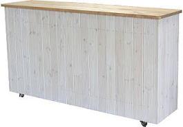 可動式キッチンカウンター・背面