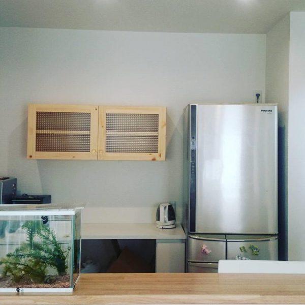 キッチンミニ吊り戸棚100cm/okamoku