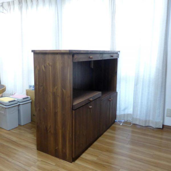 間仕切りキッチンカウンター(オーダー)/okamoku