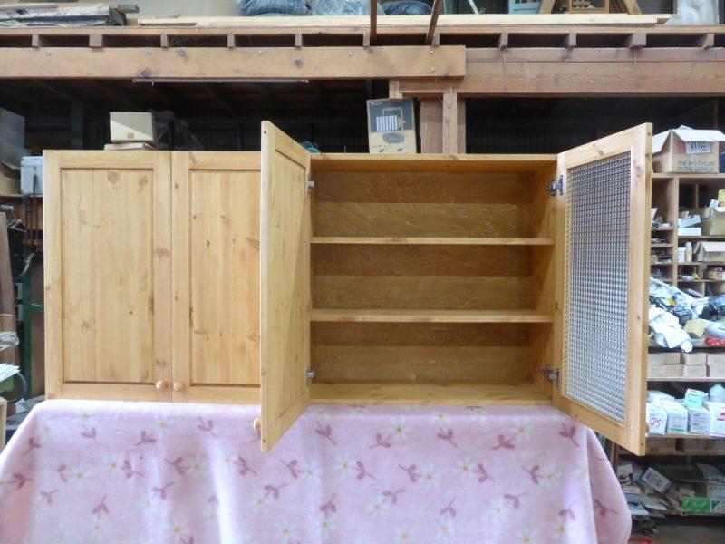 キッチン吊り戸棚(扉内部)