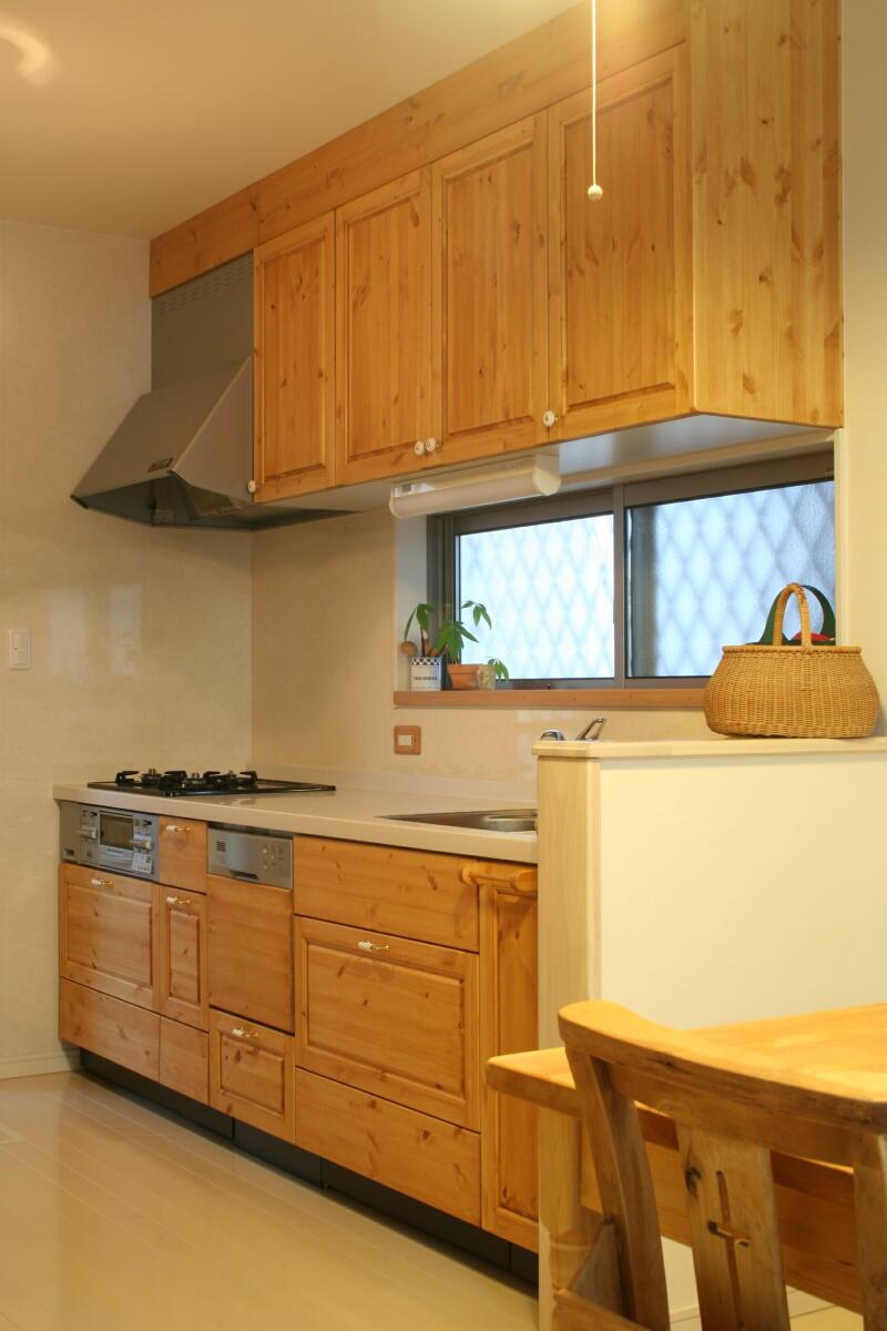 キッチン扉の交換