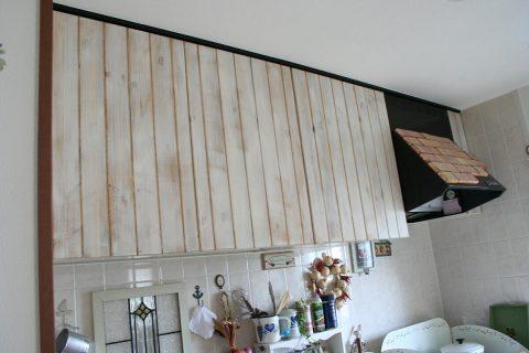 キッチン扉の交換(吊戸棚)