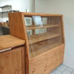 ガラスショーケース(パン屋さん用オーダー家具)